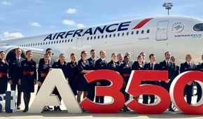 Air France accueille son premier A350