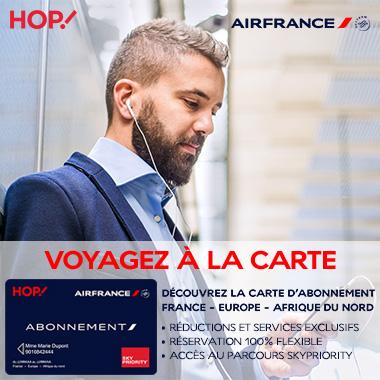 carte d abonnement air france Air France : découvrez la carte abonnée