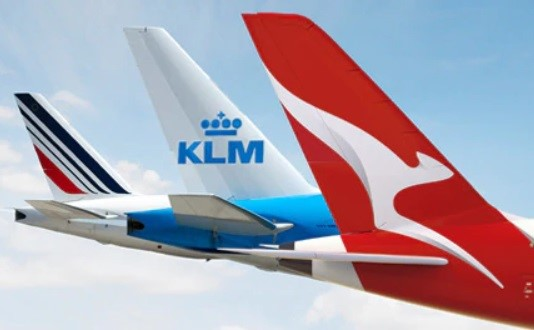 Extension des accords entre Qantas et Air France-KLM